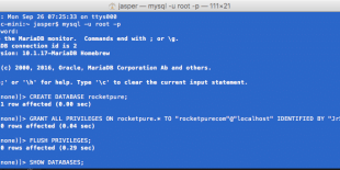 Create Wordpress Database Using Mysql Client