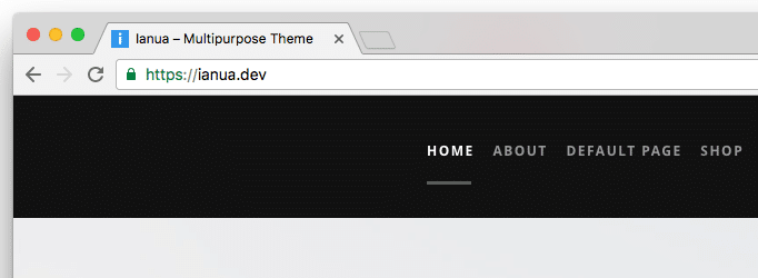 Favicon Display in Browser