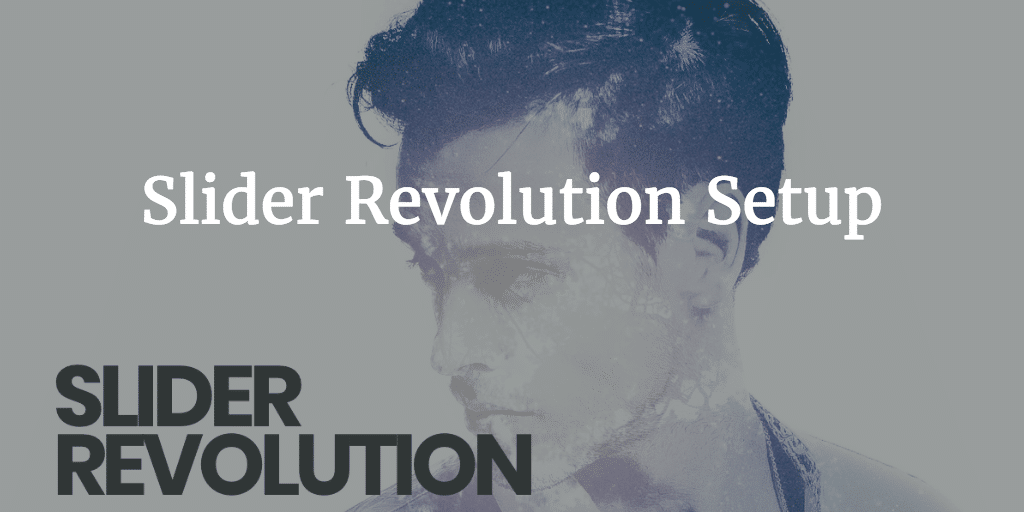 Slider Revolution Setup