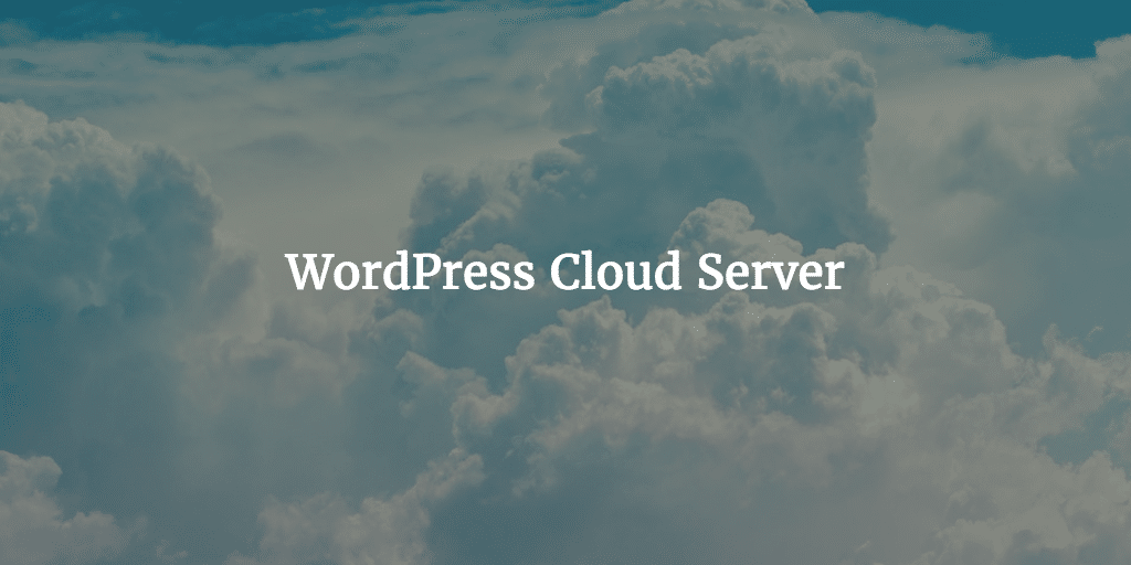WordPress Cloud Server