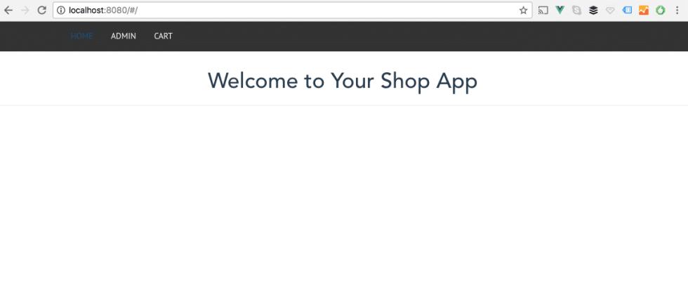 Vue Store Navigation