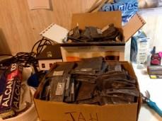 Litter bags, litter bags and litter bags...