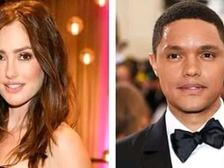 Trevor Noah moves in with long-time girlfriend Minka Kelly