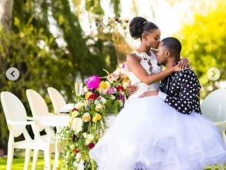 Fans Confused As Lasizwe's Bae Wiseman Zitha Marries A Woman