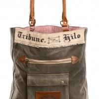 """Tasche """"Tribune"""" Canvas"""