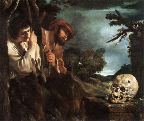 Et in Arcadia, Ego: Guercino