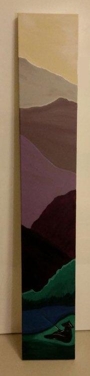 Taoist Landscape, $200