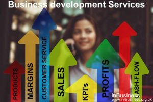 Business development services available for business growth and key performance indicator targeting by Russell Bowyer