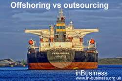 Advantages and Disadvantages of Offshoring - Offshoring vs outsourcing