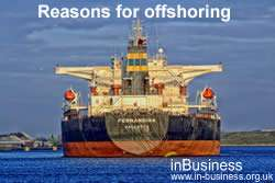 Advantages and Disadvantages of Offshoring - Reasons for offshoring