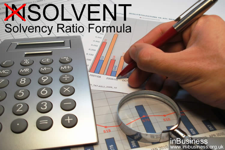 Solvency ratio formula - solvent or insolvent