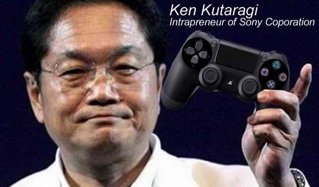 Examples of Intrapreneurship - Ken Kutaragi - Intrapreneur of Sony Corporation