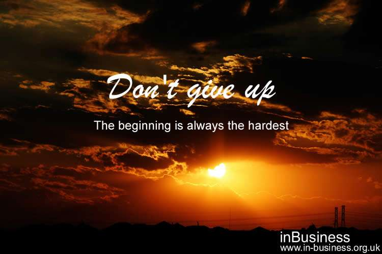 Authorpreneur - don't give up