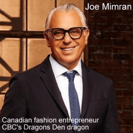 Joe Mimran net worth