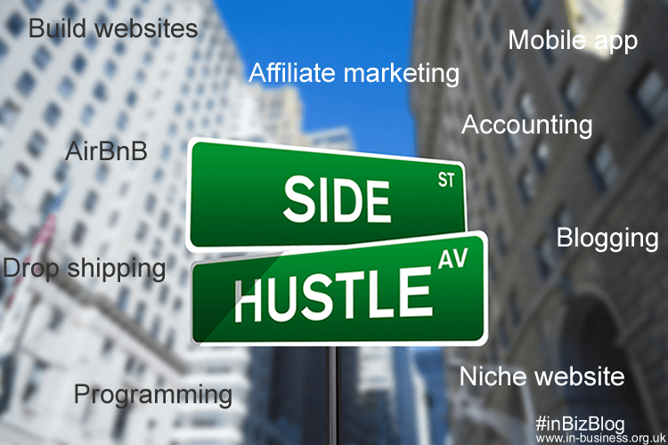 Side hustle entrepreneur 8 top side hustles