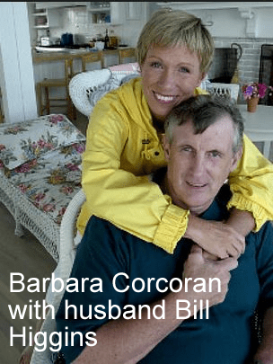 Barbara Corcoran husband Bill Higgins
