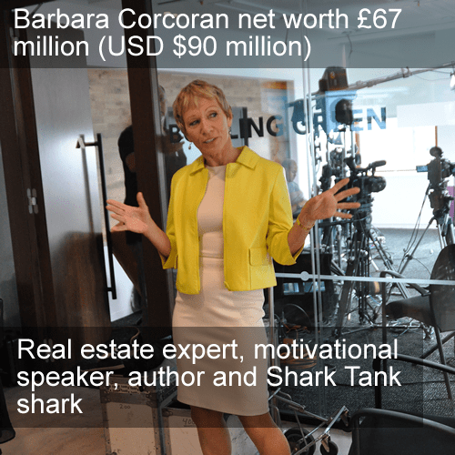 Barbara Corcoran net worth image