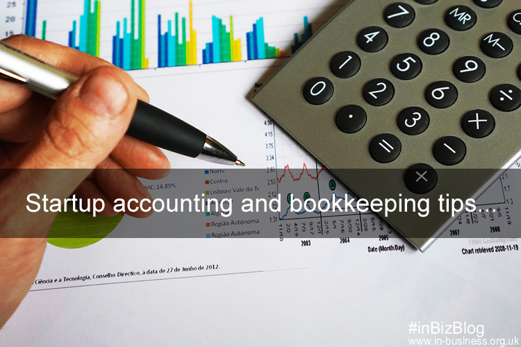 Startup accounting and bookkeeping tips