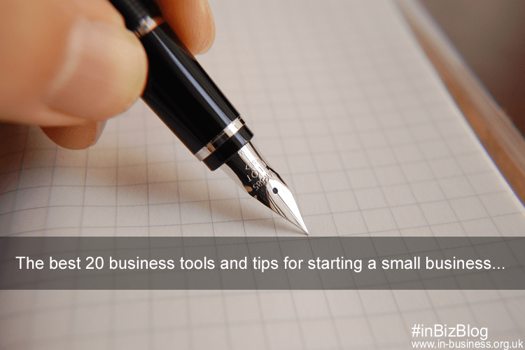 The twenty tips for successful small business startup