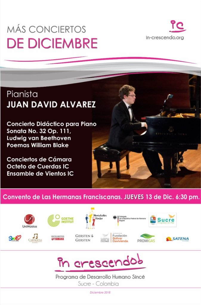 Concierto didáctico para piano