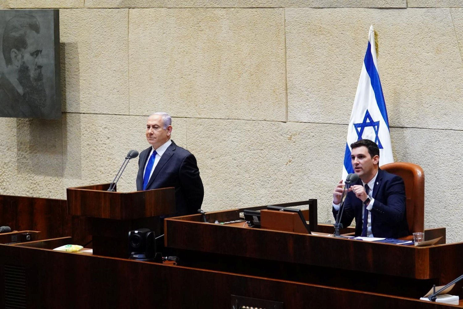 Israel S Netanyahu Presents New Unity Government To