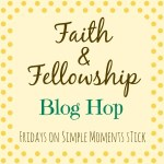 Faith and Fellowship Link-up