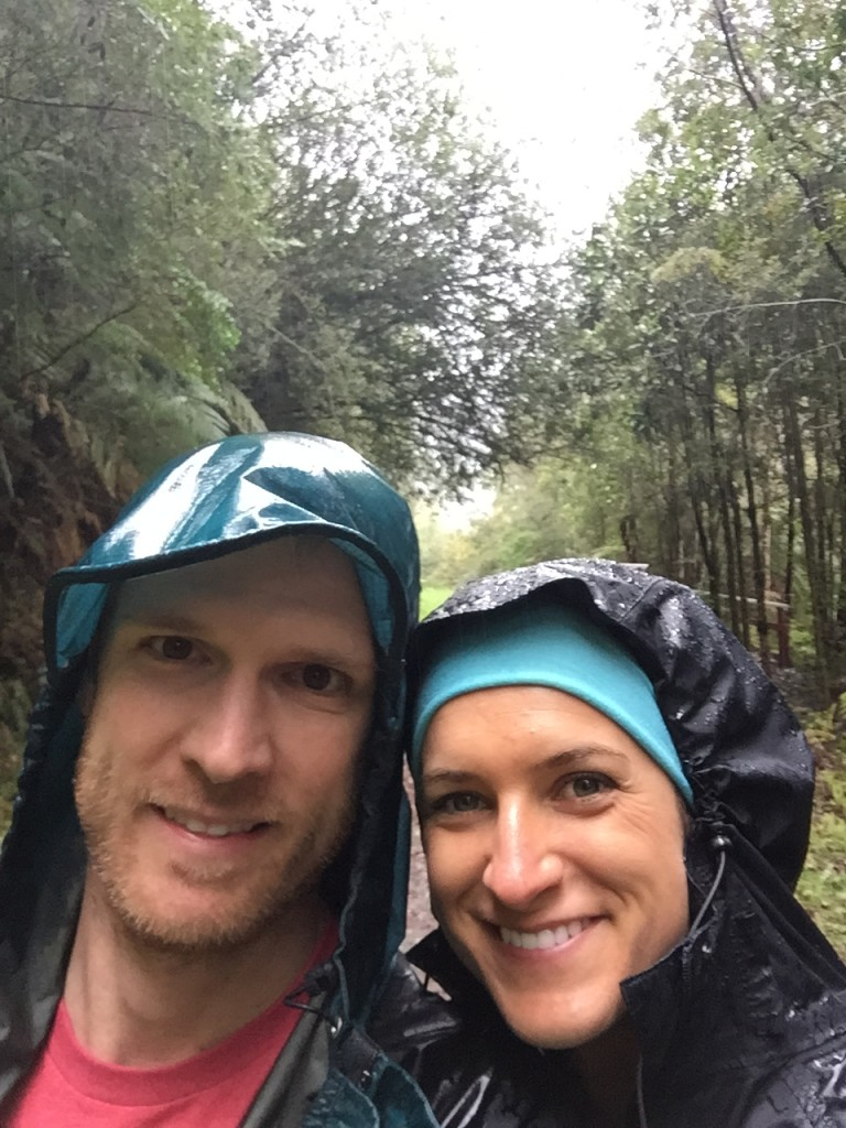 Alerce Andino National Park, Los Lagos Region, Chile - SO much rain!
