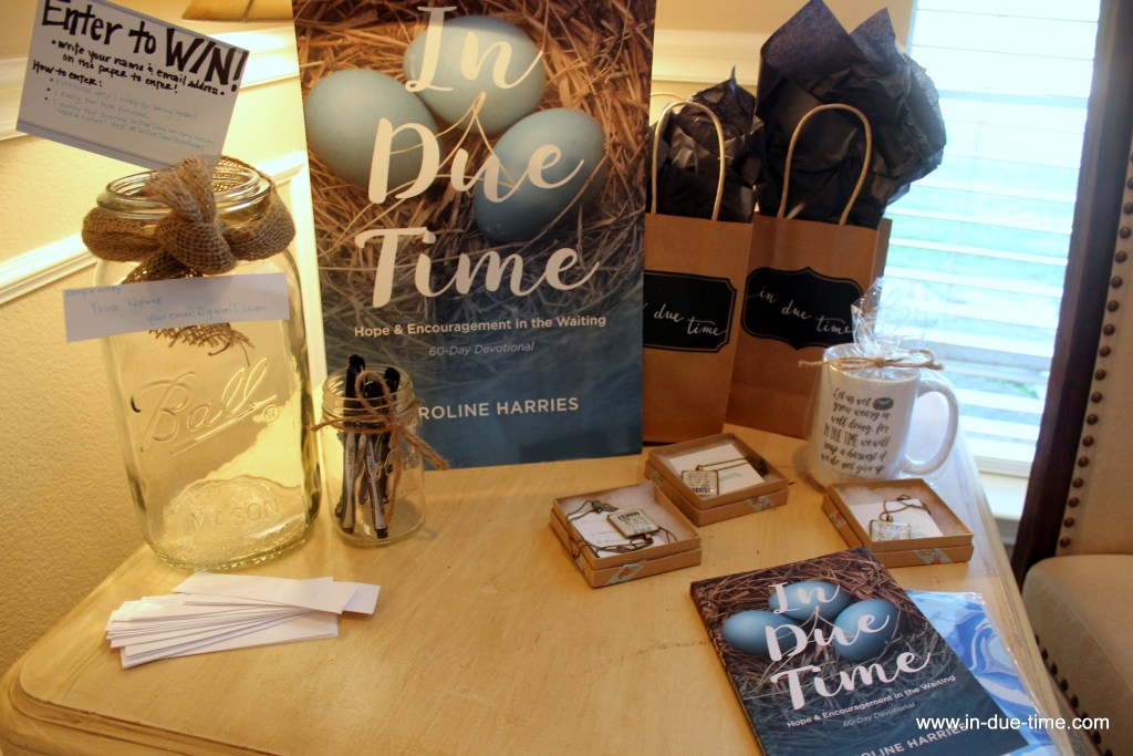 In Due Time Book Launch Party