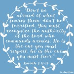 Isaiah 8:11-13 Have No Fear #163