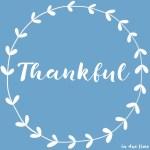 Thankful – 2016