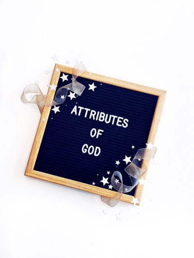 Attributes of God In Due Time Blog