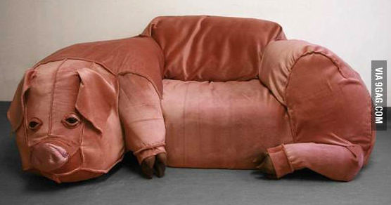 Bacon couch