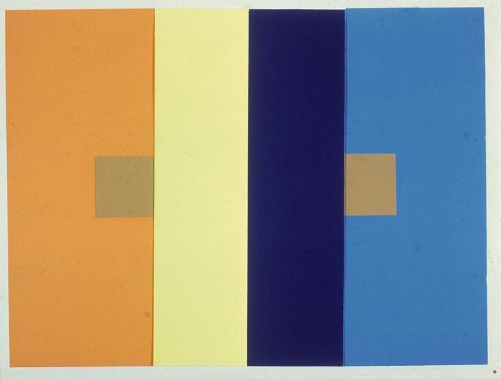 background color influences color paint samples