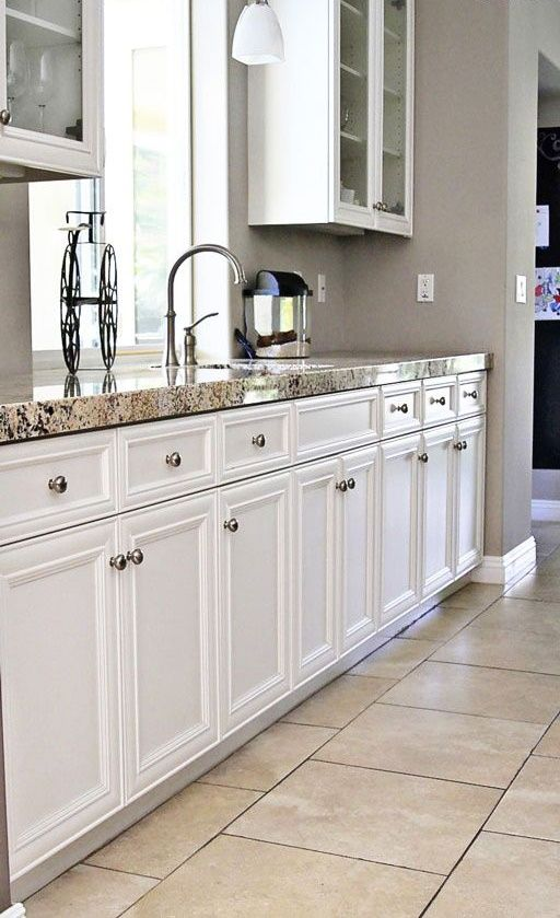 paint makeover for kitchen taupe