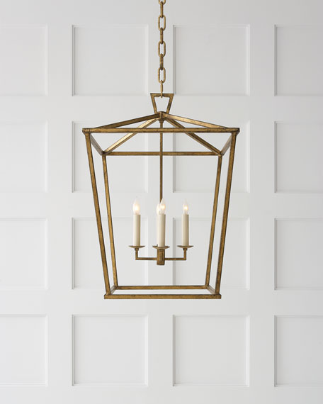 antique brass lantern visual comfort