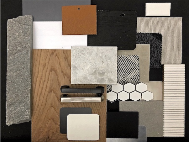 select fixtures finishes materials for contemporary new build house remodel