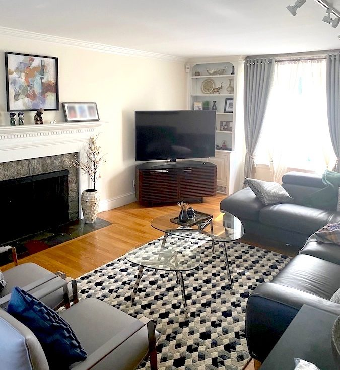 Help! Dilemma with TV and fireplace in one room before picture