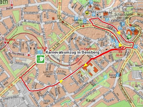 Zugweg Bensberg