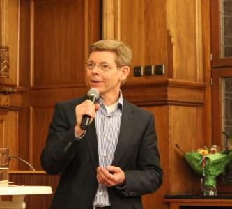 Michael Schubek im großen Ratssaal