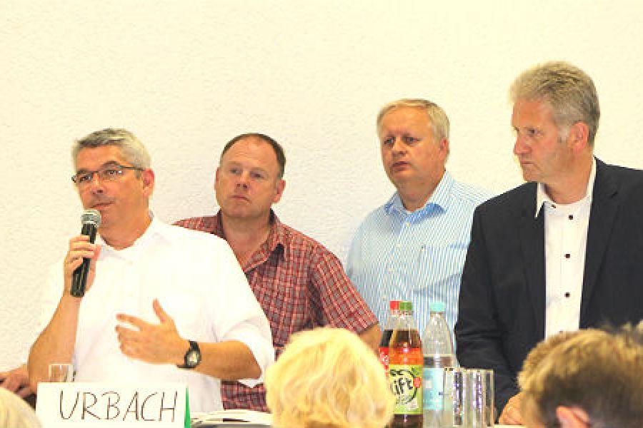 Lutz Urbach beantwortet alle Fragen, Georg Watzlawek moderiert