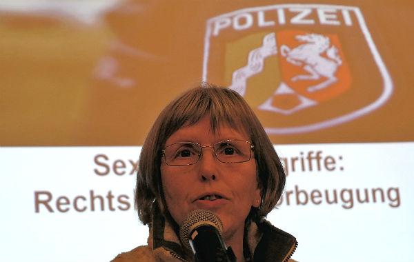 Gundhild Hebborn ist Leiterin der Kriminalprävention und Opferschutz der Polizei Rhein-Berg.