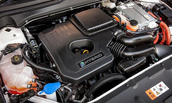 Der Hybrid-Antrieb des Mondeos. Werksfoto Ford