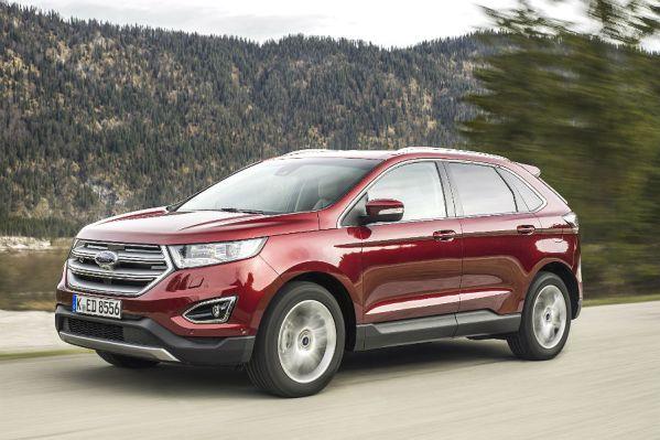 Der neue Ford Edge lässt sich auf verschiedene Arten und Weisen finanzieren. Werksfoto