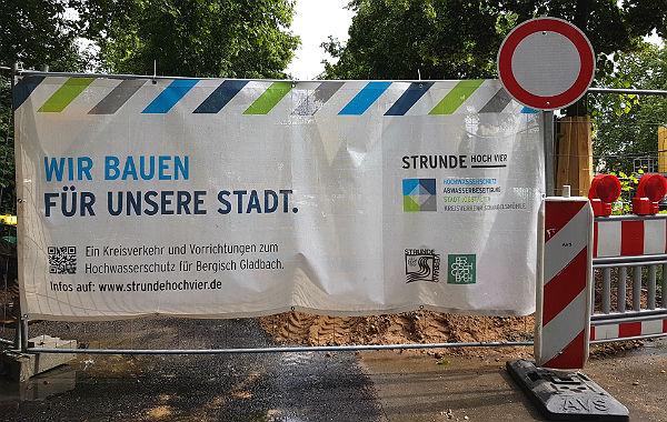Baustelle Strunde Banner 600