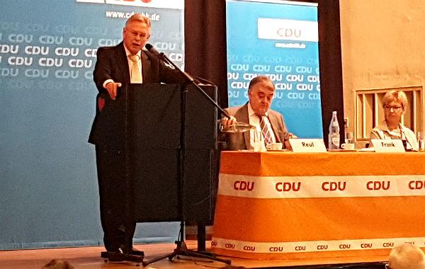 Holger Müller, Landtagsabgeordneter und Kandidat der CDU für die NRW-Wahl 2017