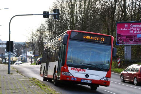 Die Paffrather Mulde bringt Busfahrer in Bedrängnis. Foto: Klaus Hansen