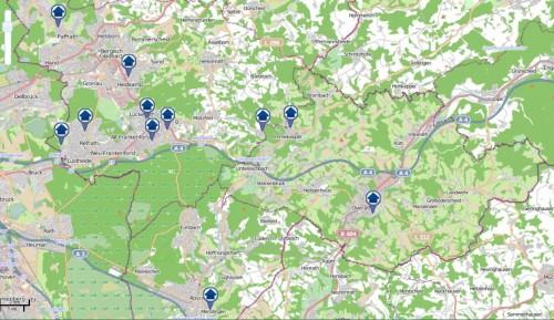 Der Einbruchsradar für die vergangene Woche: Alle im Südkreis registrierten Fälle