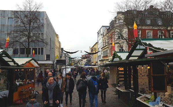 Der Weihnachtsmarkt ist seit Montag offen und wird gut angenommen