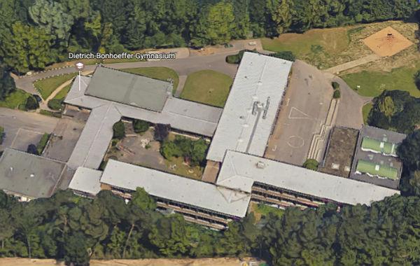 Das Dietrich-Bonhoeffer-Gymnasium am Rübezahlwald. Foto: Sreenshot Google Maps