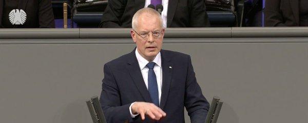 Hermann-Josef Tebroke (CDU) im Bundestag